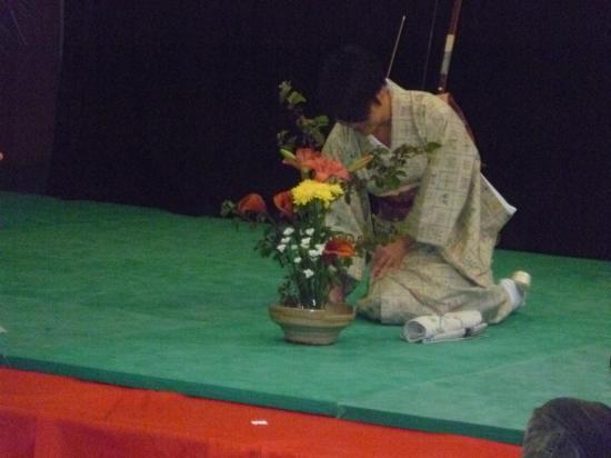 Ikebana (arrangement floral)